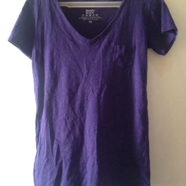 Bench Top V- Neck Shirt