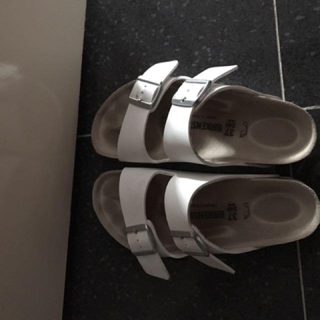 Birkenstock White Sandals