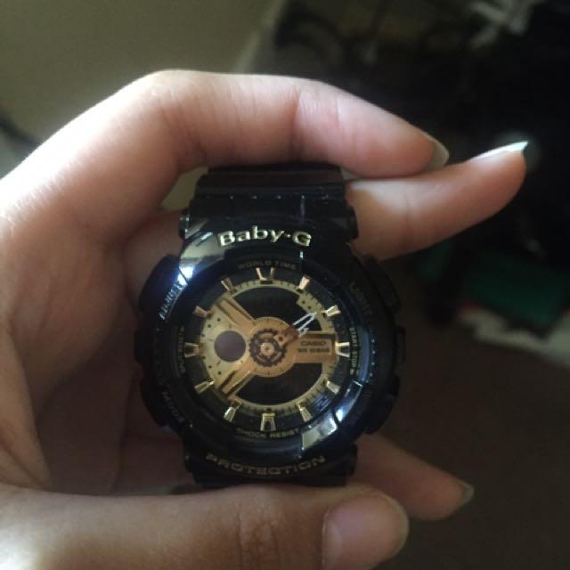 Black Baby G Watch