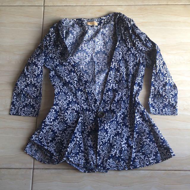 Blazer Batik All Size