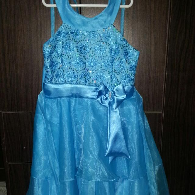 Blue Gown for Girls