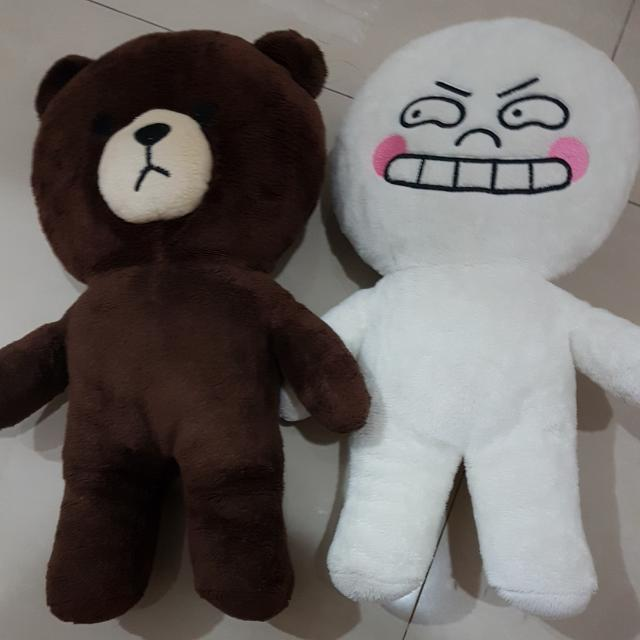 BONEKA BROWN AND MOON
