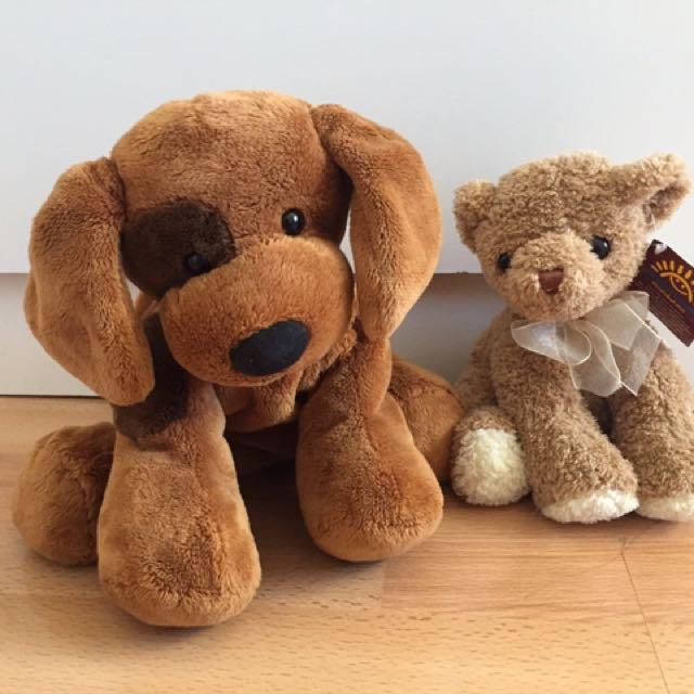 Brand New Stuff Animal Bear And Dog