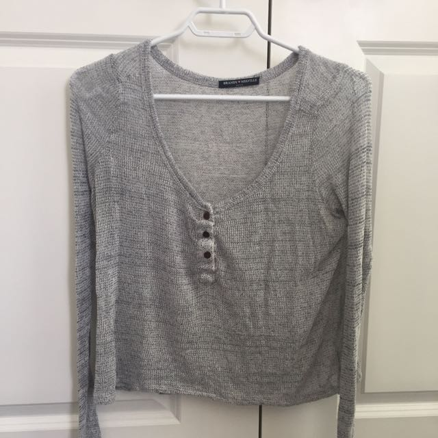 brandy melville knit long sleeved