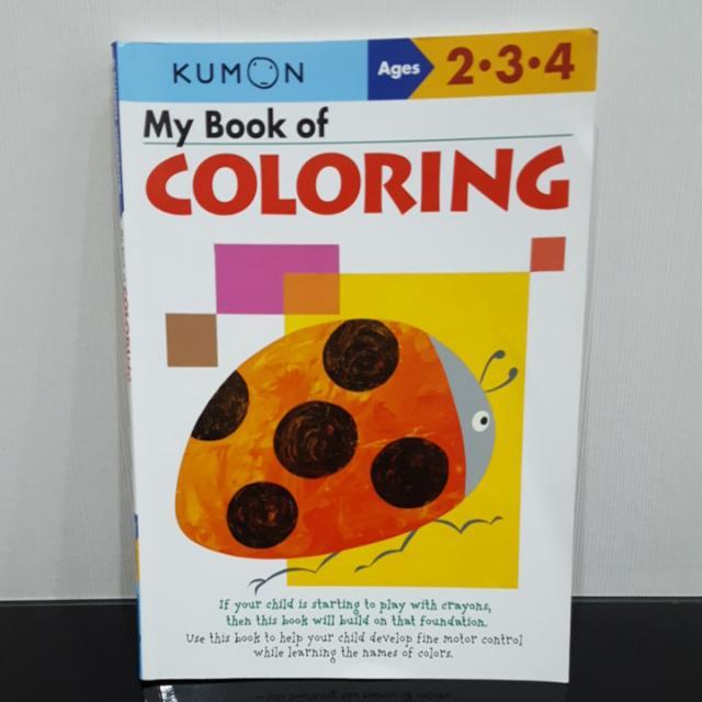 Buku Kumon Paket 4 Buku