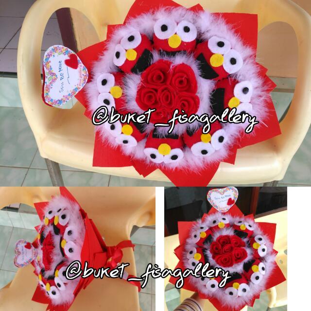 Bunga Flanel Elmo