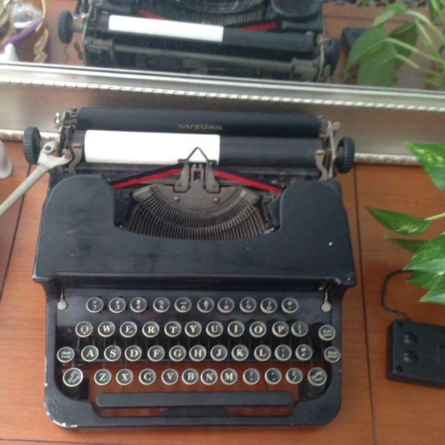 Corona type Writer