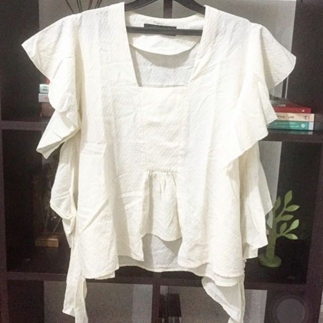 COTTON INK Kutu Baru Top