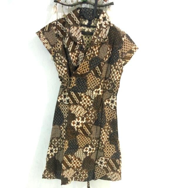 Dress Batik Fit To L