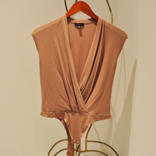 Dynamite Nude/pink Bodysuit