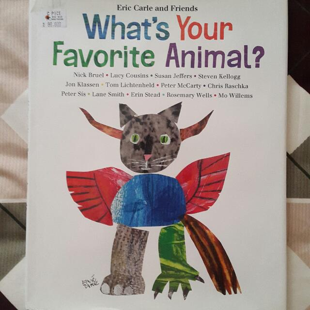 Eric Carle What's Your Fav Animal