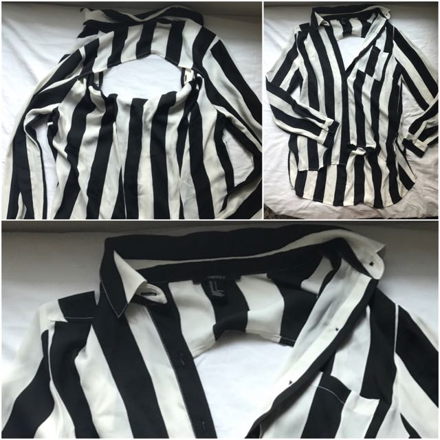 UO: F21 Stripes cover up
