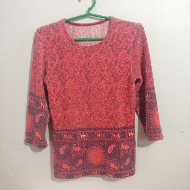 faded style top