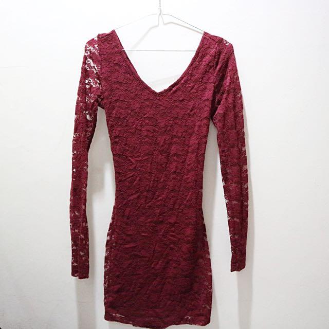 Forever 21 Brokat Dress