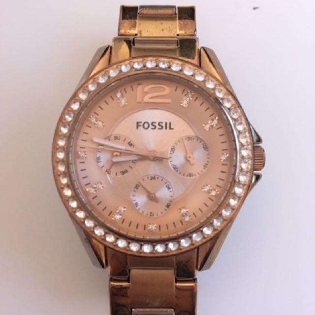 FOSSIL - ROSEGOLD WATCH