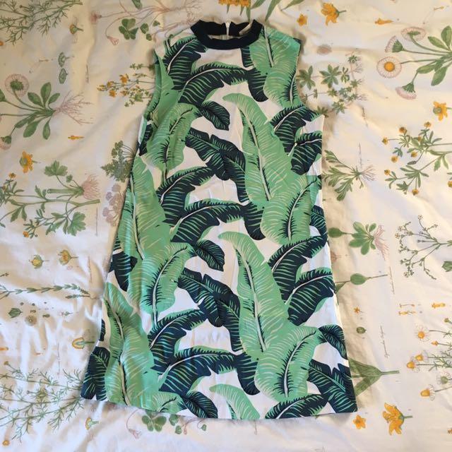 Frida The Label High Neck Mini Dress