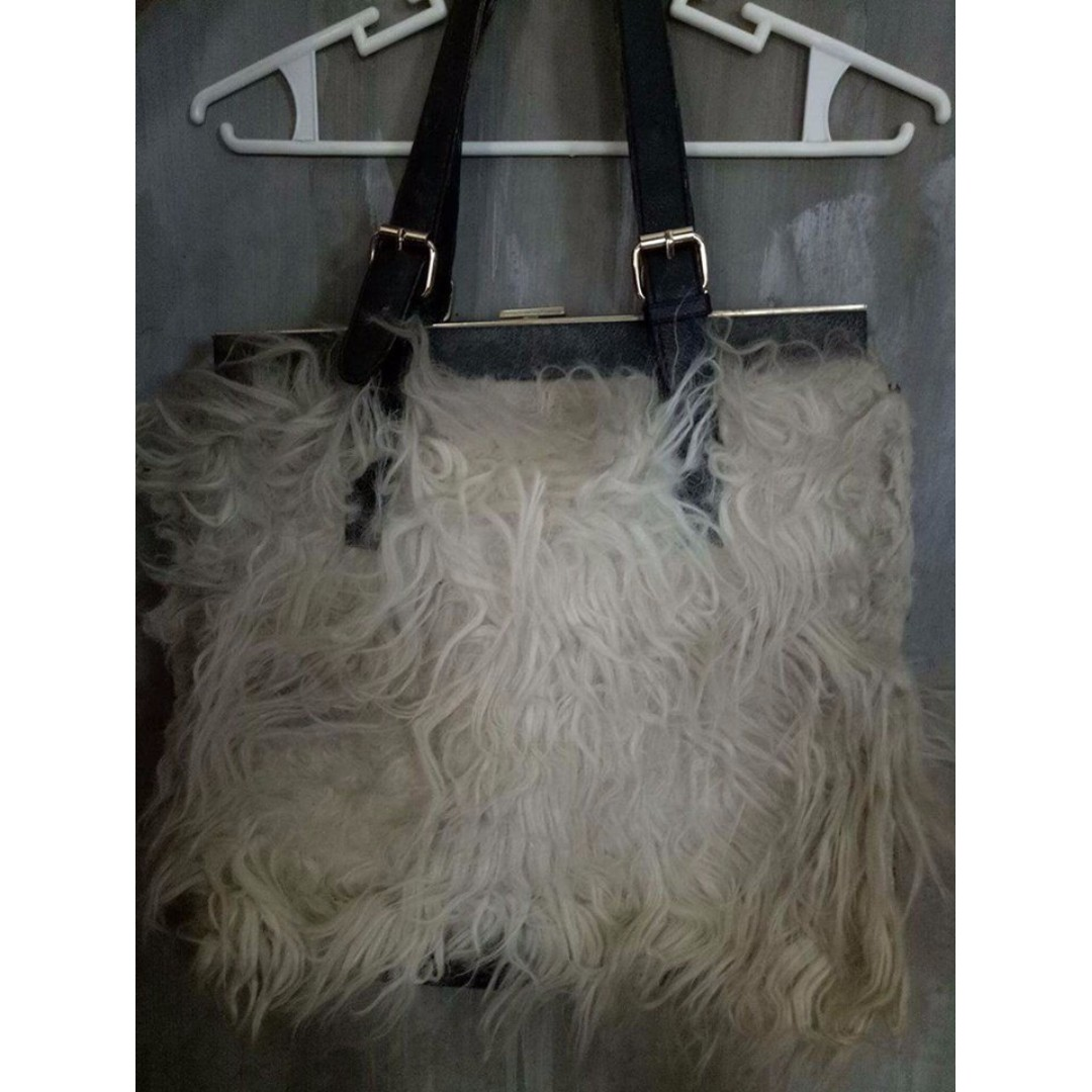 Fur bag from Kuwait