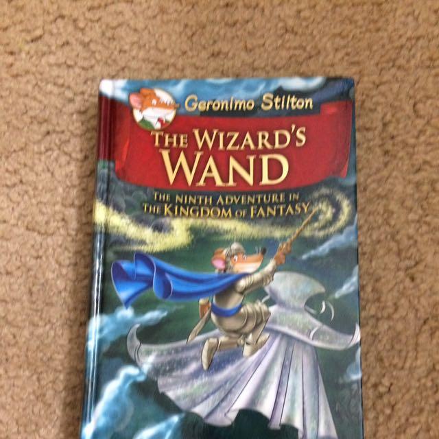 Geronimo Stilton( The Wizard's Wand )