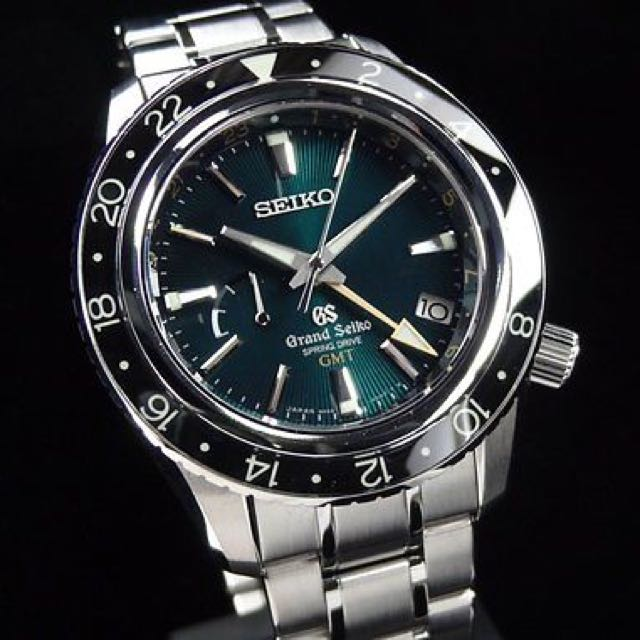 best service 9a527 933a1 Grand Seiko GMT Spring Drive SBGE021, Men's Fashion, Watches ...