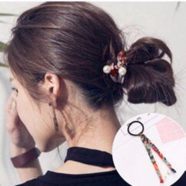 Hair Bun Band Korean Style Women S Fashion Accessories
