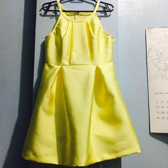 RUSTAN Halter Dress