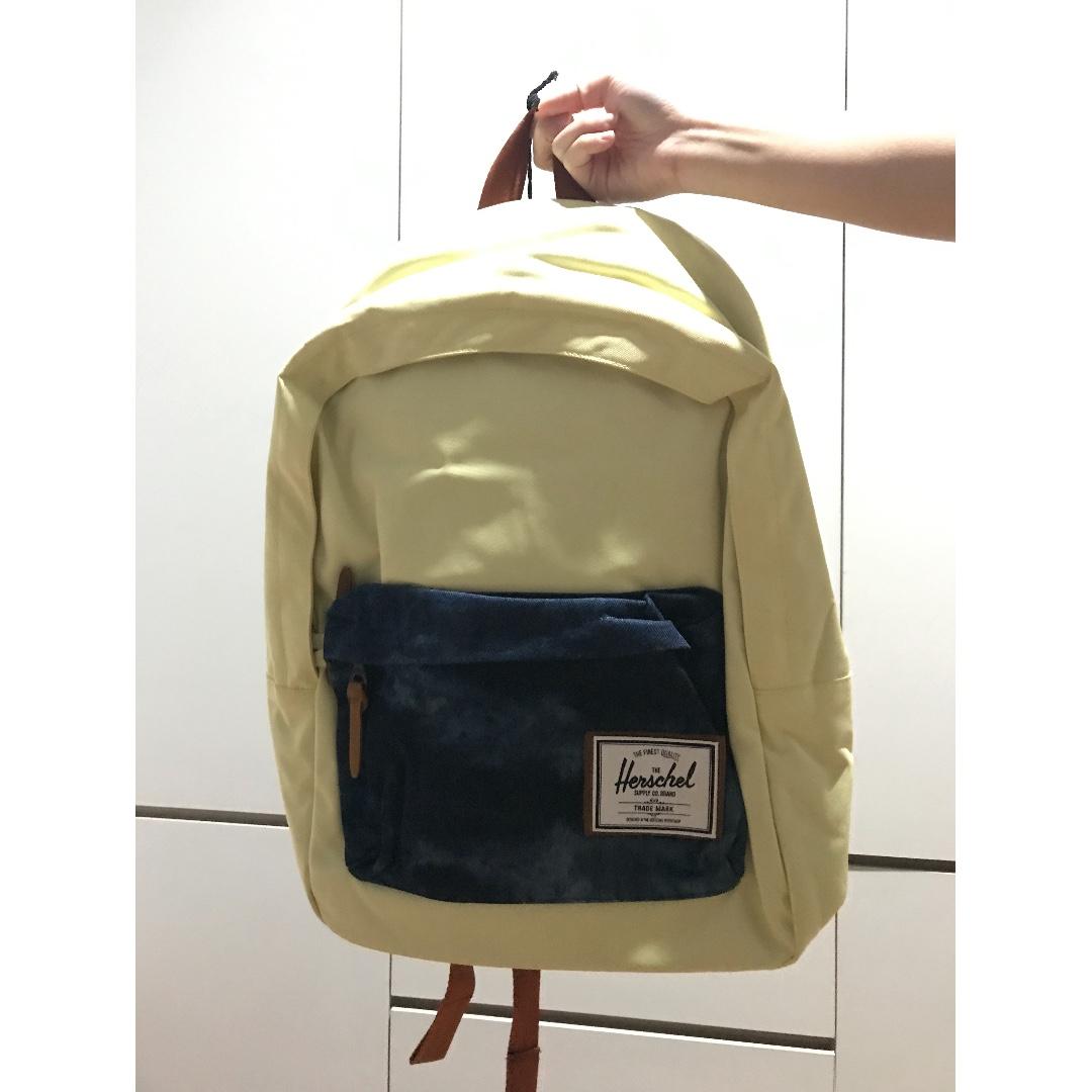 Herschel Deerfield Backpack Yellow-Acid Denim