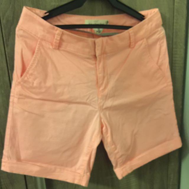 H&M Coral Shorts
