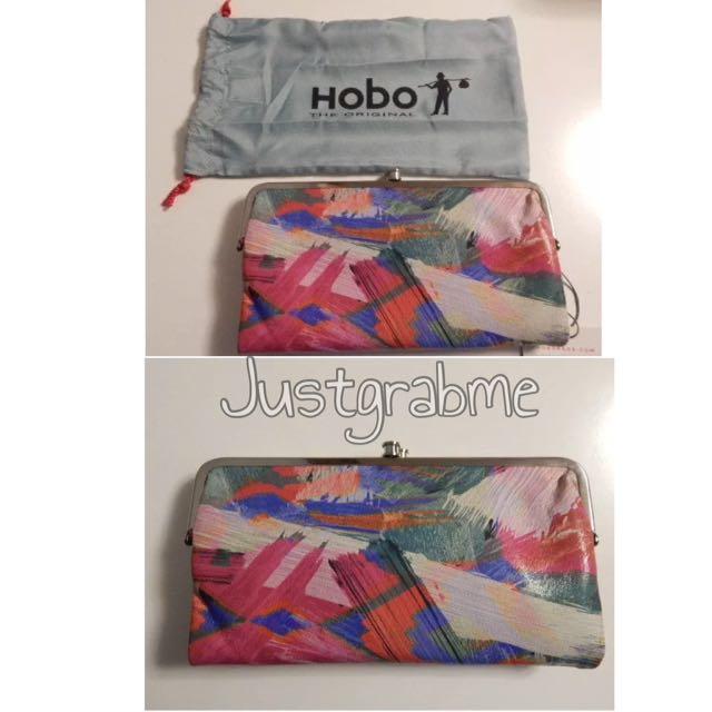 Hobo International Lauren Artist Blush Double Frame Wallet