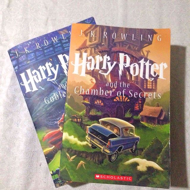 HP BOOK 2 & 4