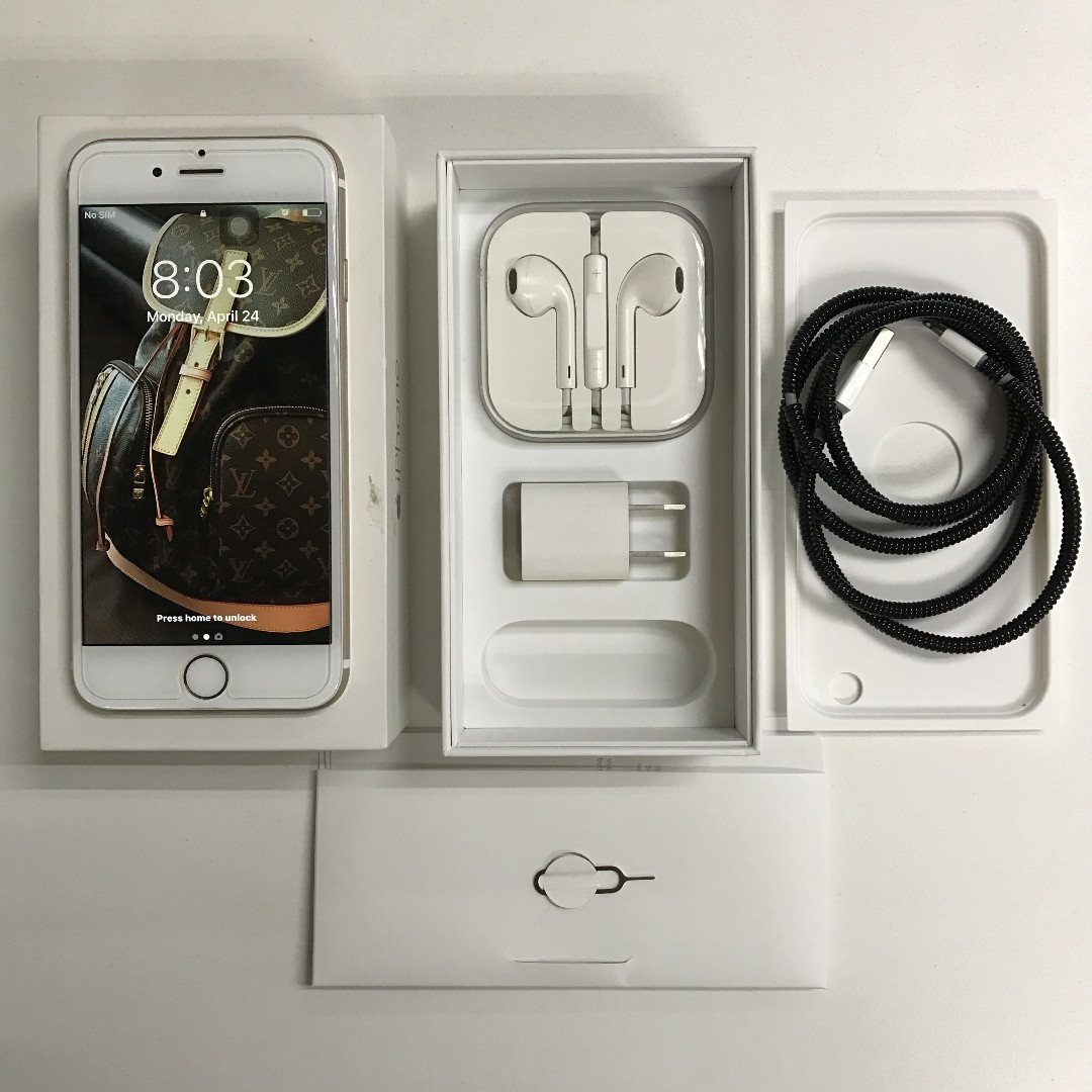 iPhone 6 Gold 16GB Globe-locked