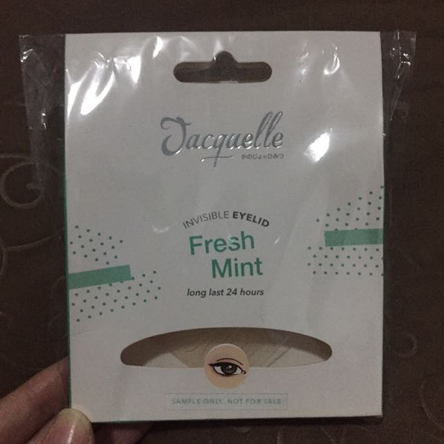 Jacquelle Invisible Eyelid #fresh Mint