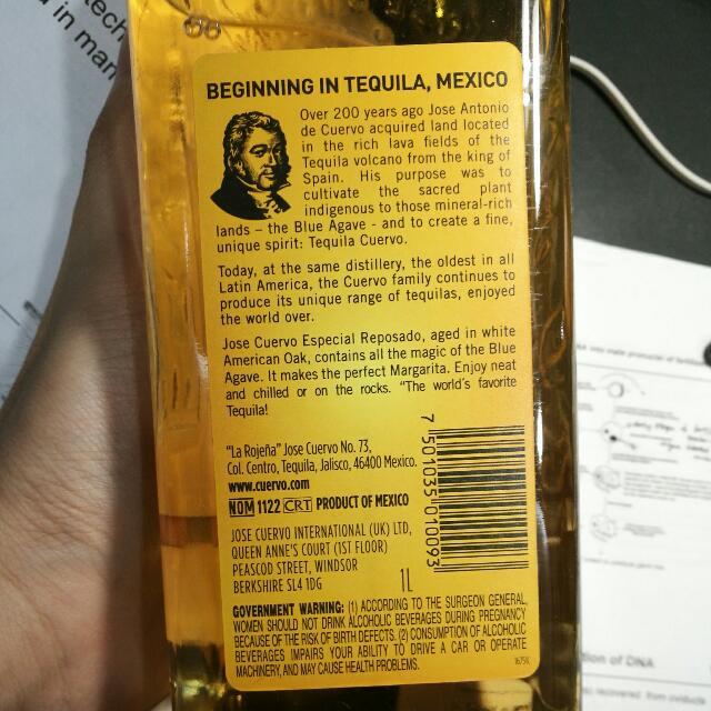 Jose Cuervo Tequila & Jagermeister on