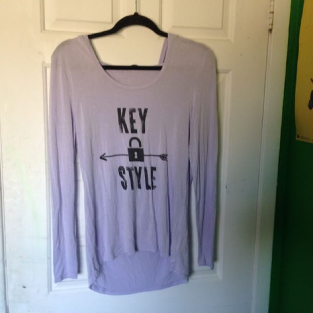 Key Style Lavender Sweater
