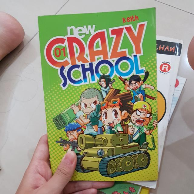 KOMIK CRAZY SCHOOL