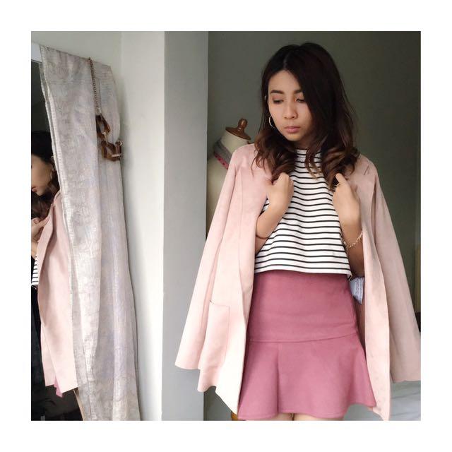 KOREAN Pink Skirt
