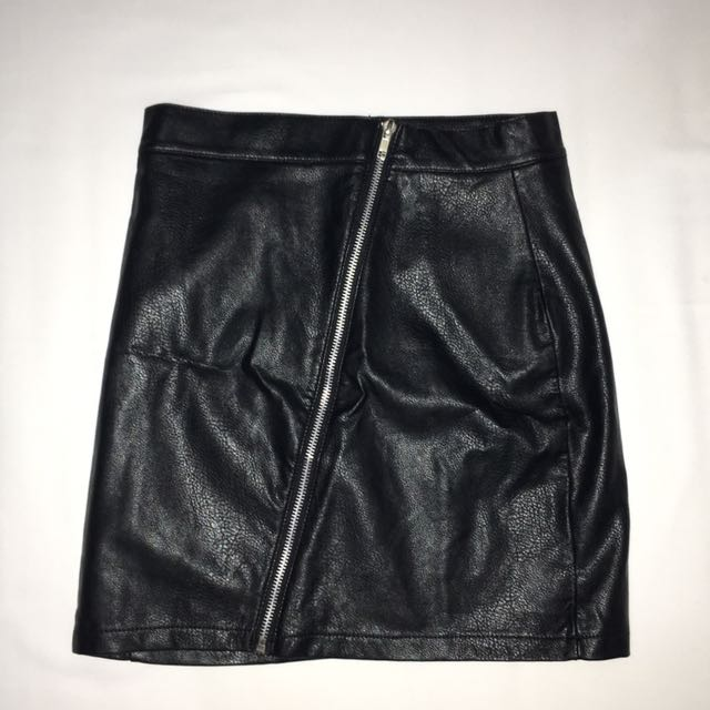 Leather Skirt Size 6