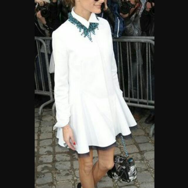 Looking for this polo shirtdress or similar  Size: Xs-S Color: White-Off White Msg me for availabilities