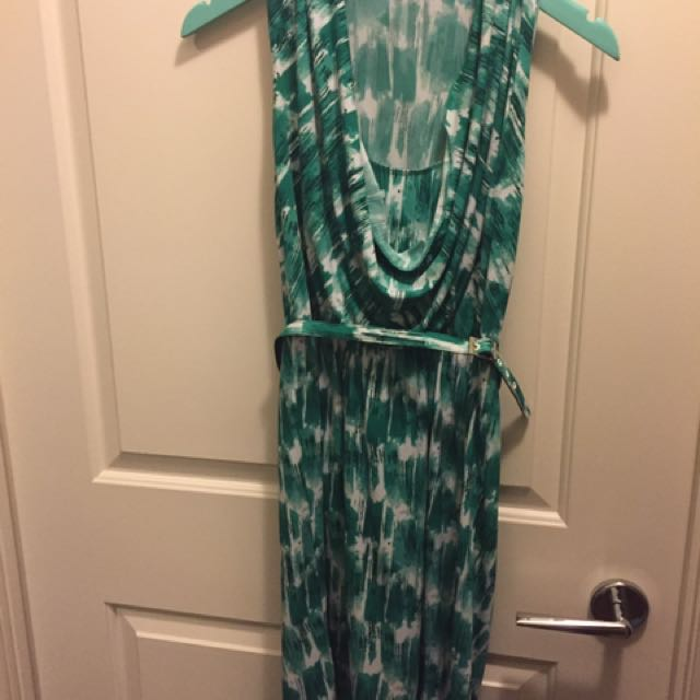 Max And Cleo Dress Green Size XS