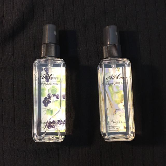 Missha 淡香水香氛噴霧 120ml 英國梨 黑莓
