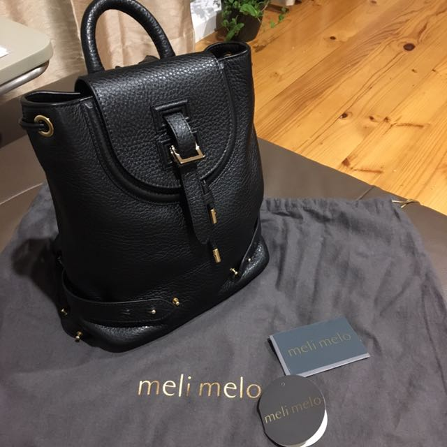 New Meli Melo Backpack Mini In Black