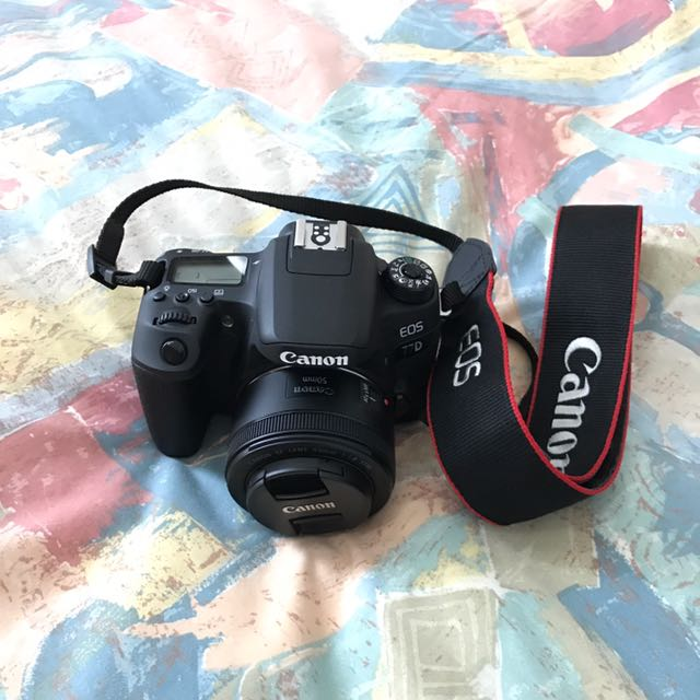 Priced To Sell (new Model) Canon 77D DSLR (DP REVIEW SILVER
