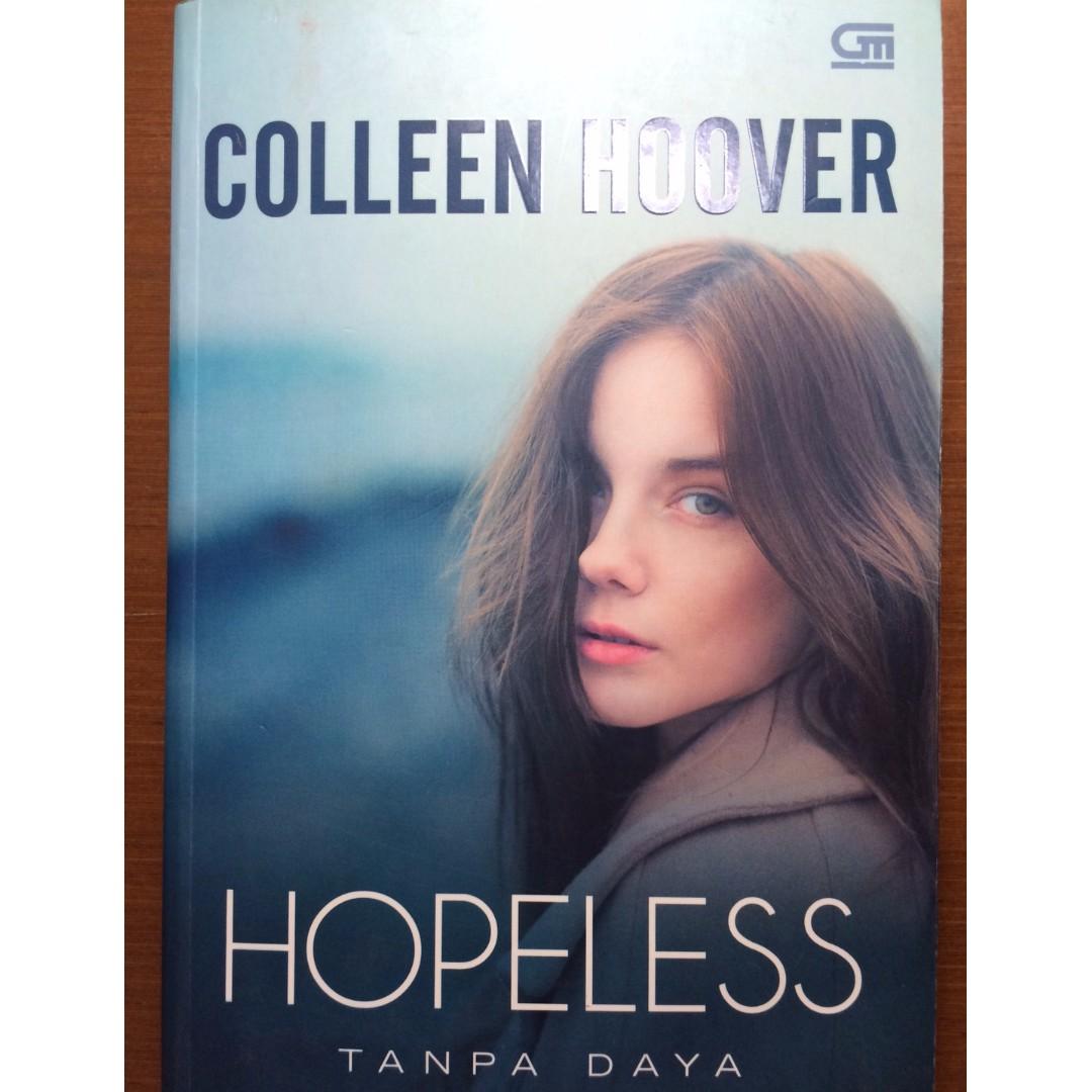 """Novel: """"Hopeless"""" by Colleen Hoover"""