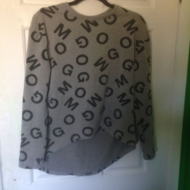 OMG Crop Sweater