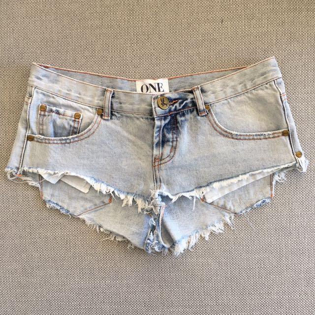 ONE Brand Denim Shorts