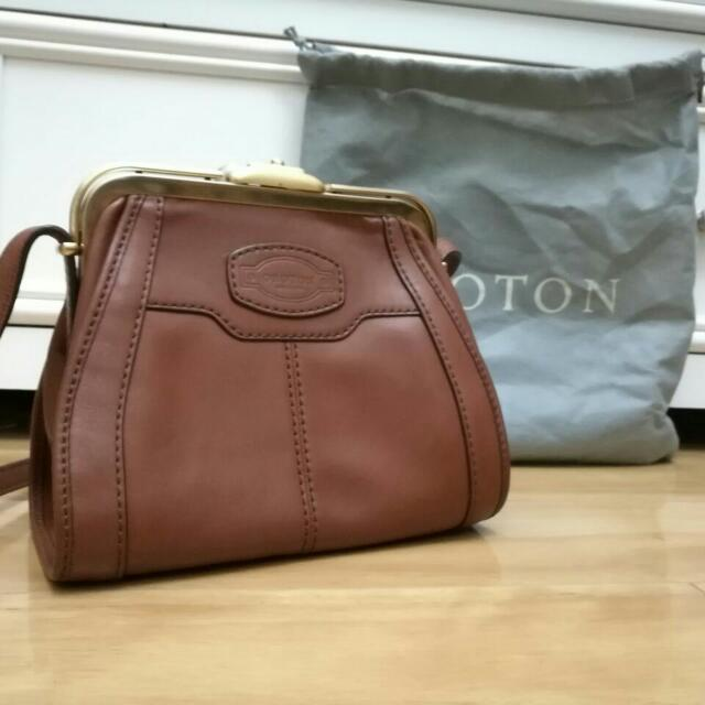 Oroton Mini Archive Cross body Bag