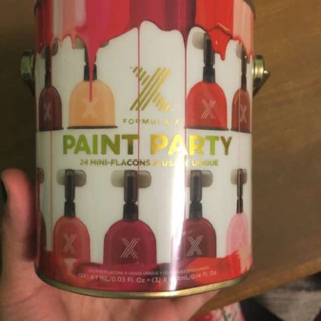 Paint Party Formula X from Sephora
