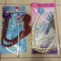 Paket Rambut Frozen Anna & Elsa