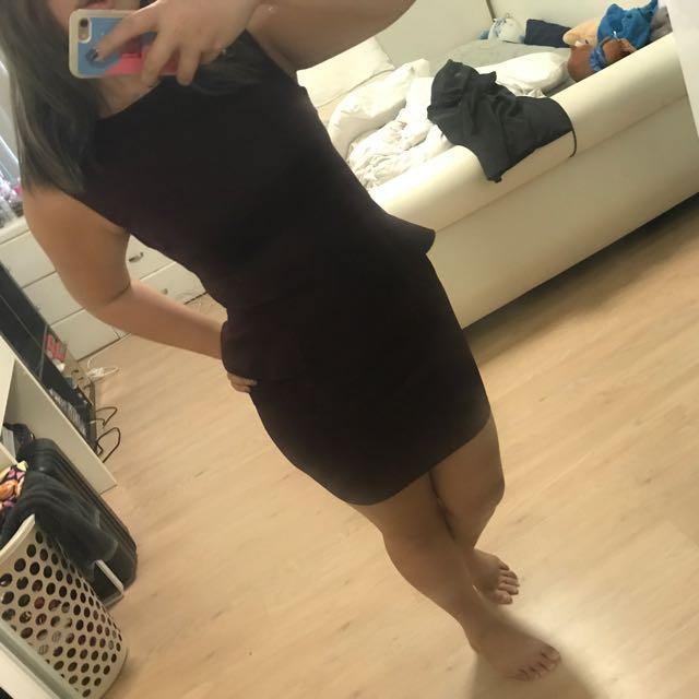 Peplum Dress By AX