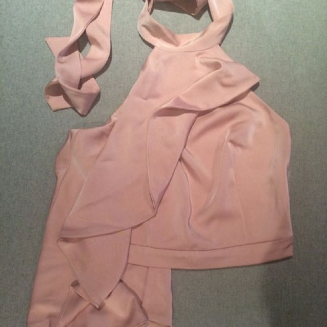 Pink Party Top Size 8