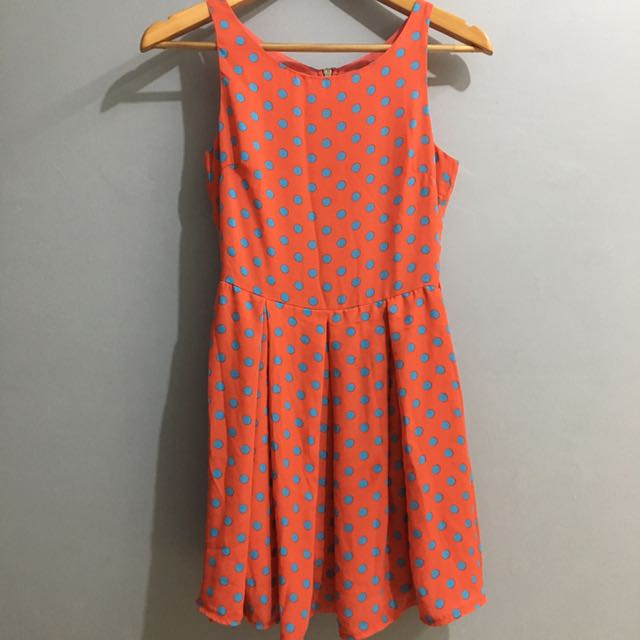 Polka Dots Colorful Dress (Glamourous By ASOS)